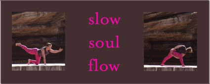 slow soul flow brown background
